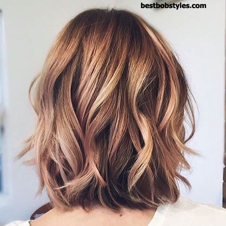 20 Short Hairstyles for Wavy Hair - 15 #ShortBob