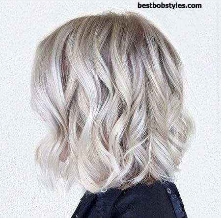 20 Short Hairstyles for Wavy Hair - 5 #ShortBob