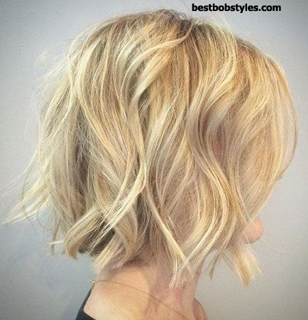 20 Short Hairstyles for Wavy Hair - 6 #ShortBob