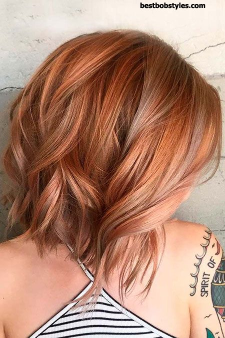 20 Short Hairstyles for Wavy Hair - 8 #ShortBob