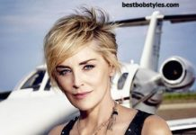 Trendy Haircuts  23 New Sharon Stone Short Hairstyles – 15  BestBob 783136023117