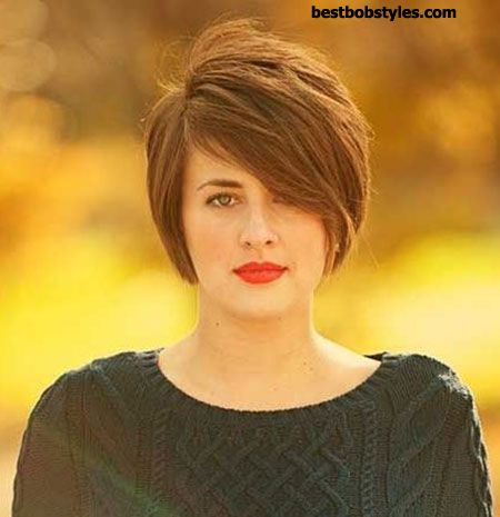 Trendy Haircuts 23 Short Hairstyles For Chubby Faces 4