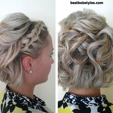 25 Prom Hairstyles for Short Hair - 15 #ShortBob