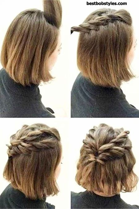 25 Prom Hairstyles for Short Hair - 17 #ShortBob