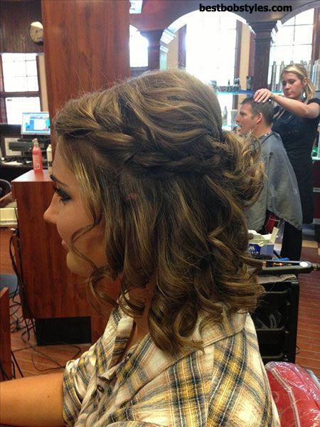 25 Prom Hairstyles for Short Hair - 3 #ShortBob
