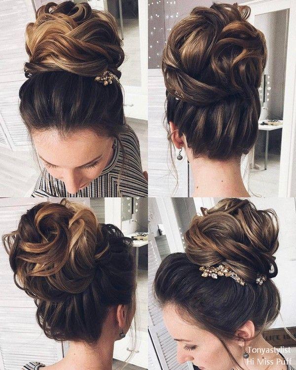 Tonya Pushkareva Long Wedding Hairstyles and Updos     Hi Miss Puff - Part 6 #we...