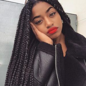 Lovely Set Of Box Braids @sarahikoko