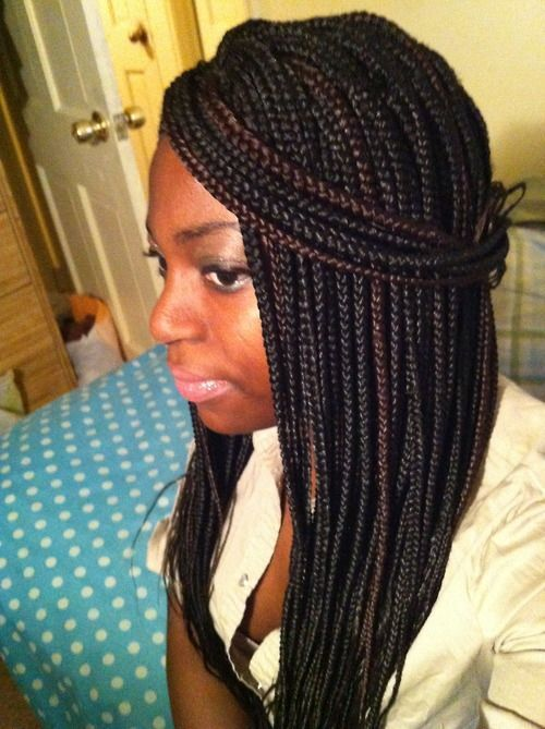 Nice color in braids via i love box braids