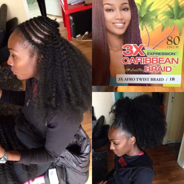 American And African Hair Braiding Crochet Braid Type Afro 2