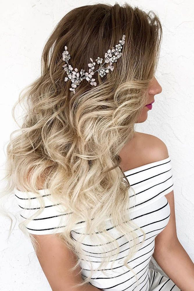 33 Exquisite Wedding Hairstyles With Hair Down ❤️ wedding hairstyles down ha...