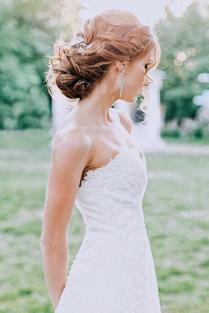 30 Perfect Wedding Hairstyles For Medium Hair ❤ wedding hairstyles for medium ...