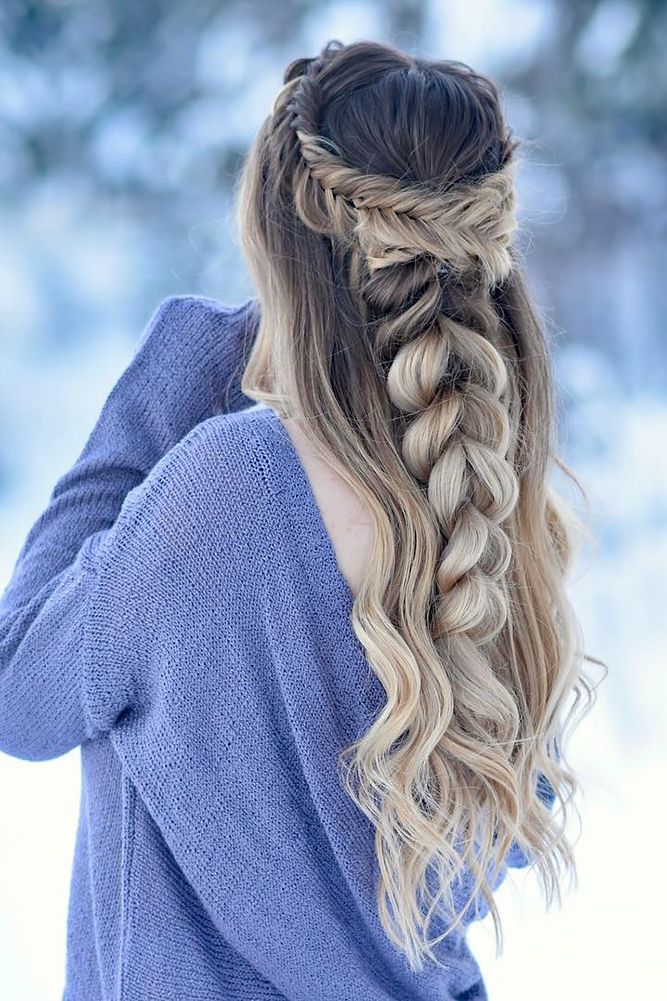 42 Boho Inspired Creative And Unique Wedding Hairstyles ❤ creative unique wedd...