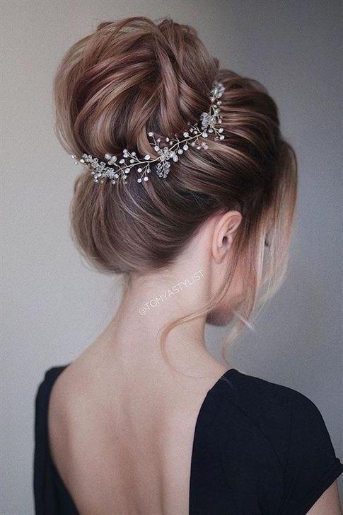 wedding updos for long hair