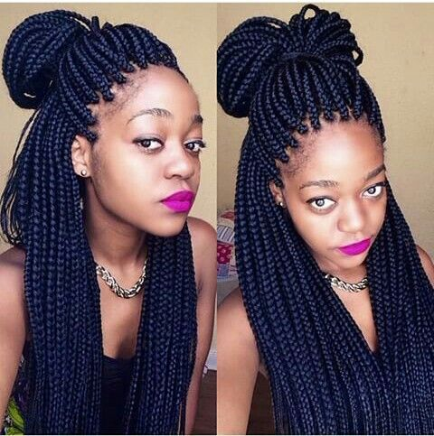 Love her braids