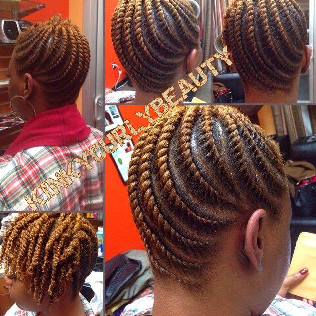 Such Neat Flat Twists @kinkycurlybeauty - community.blackha... #protectivestylin...