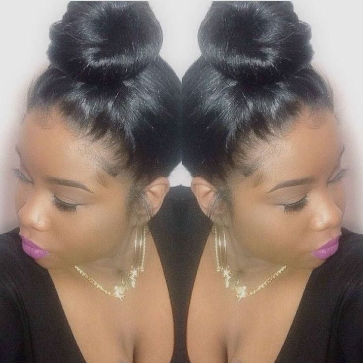 #bun#black#hair#fashion#women#beauty#forblackwomen#mimicafricanamerican#bestwigs...