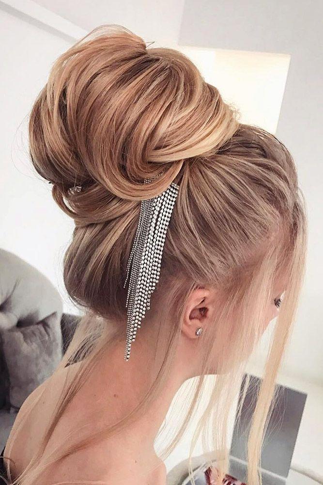 30 Best Elstile Wedding Hairstyles ❤ elstile wedding hairstyles volume high bu...