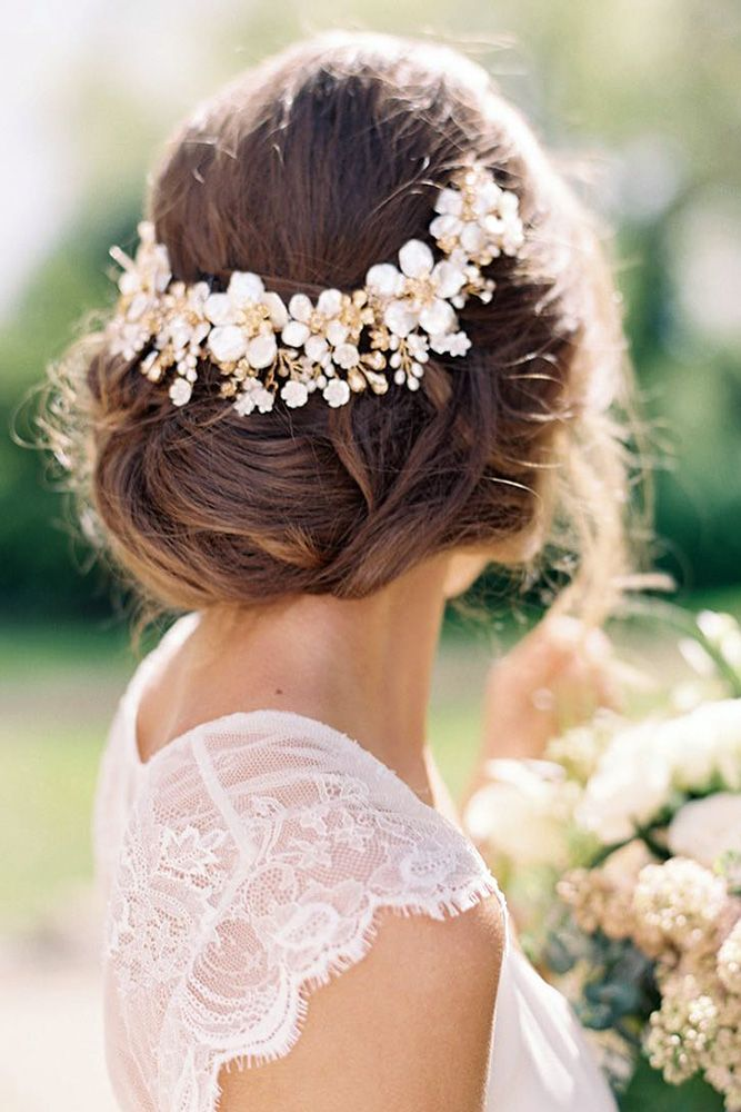 30 Perfect Bridal Hairstyles For Big Day Party ❤ bridal hairstyles elegant low...