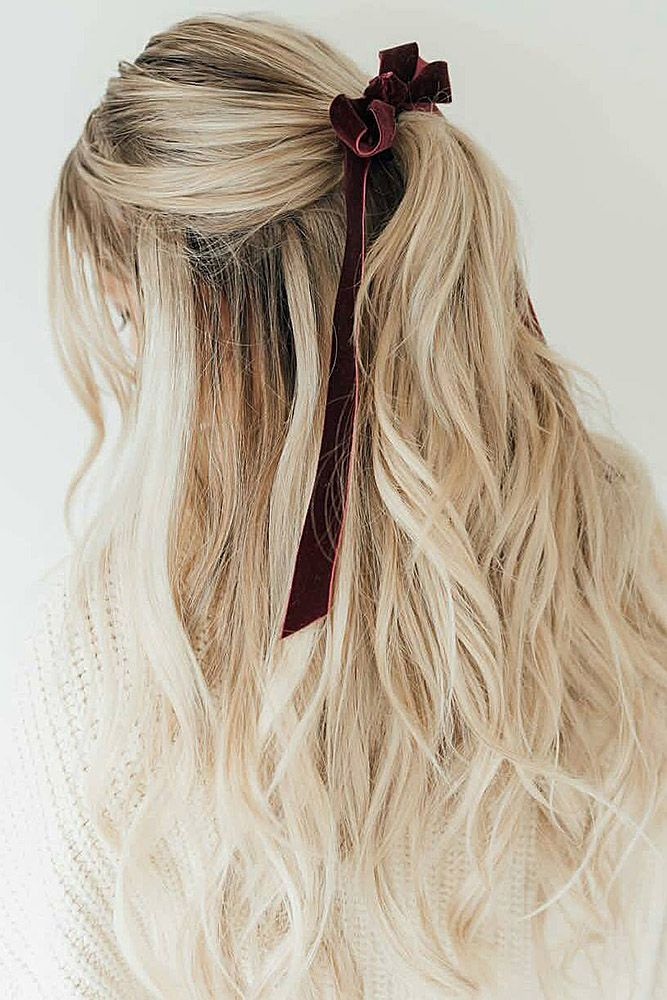 30 Perfect Bridal Hairstyles For Big Day Party ❤ bridal hairstyles half up hal...