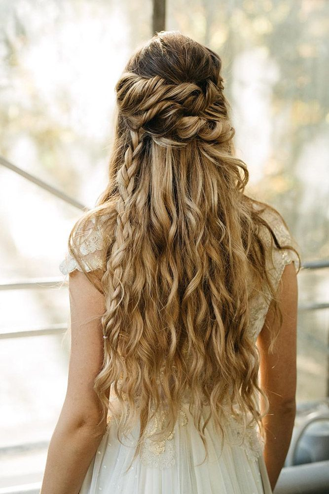 30 Perfect Bridal Hairstyles For Big Day Party ❤ bridal hairstyles twisted hal...