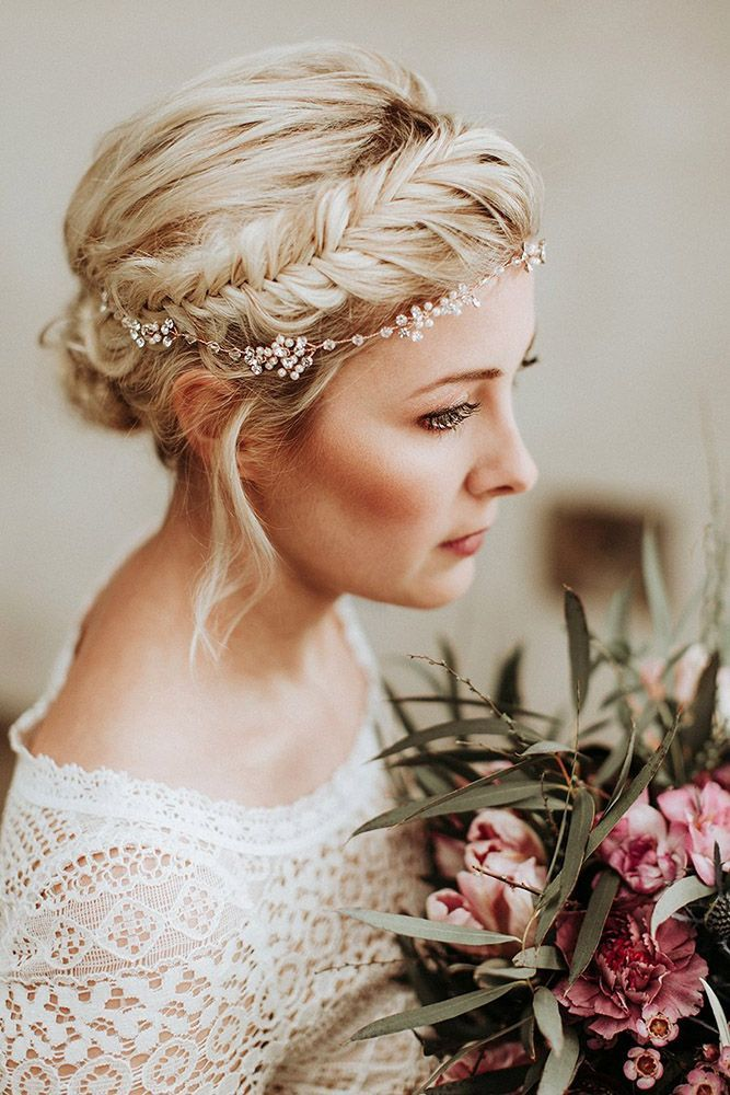 30 Wedding Hairstyles Ideas For Brides With Thin Hair ❤️ wedding hairstyles ...