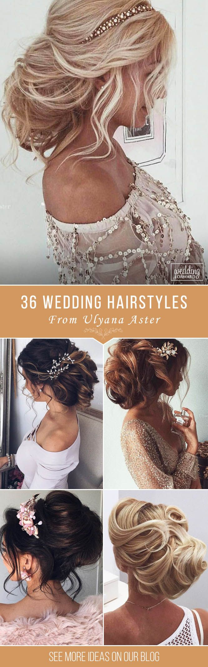 36 Wedding Hairstyles For Long Hair From Ulyana Aster ❤ Are you looking for go...