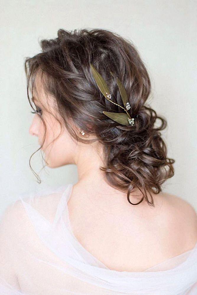 Best Wedding Hairstyle Trends 2018 ❤ wedding hairstyle trends low textured bun...