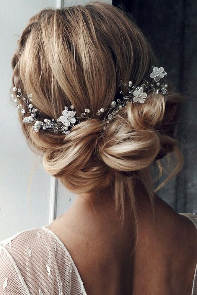 Best Wedding Hairstyle Trends 2018 ❤ wedding hairstyle trends low textured upd...