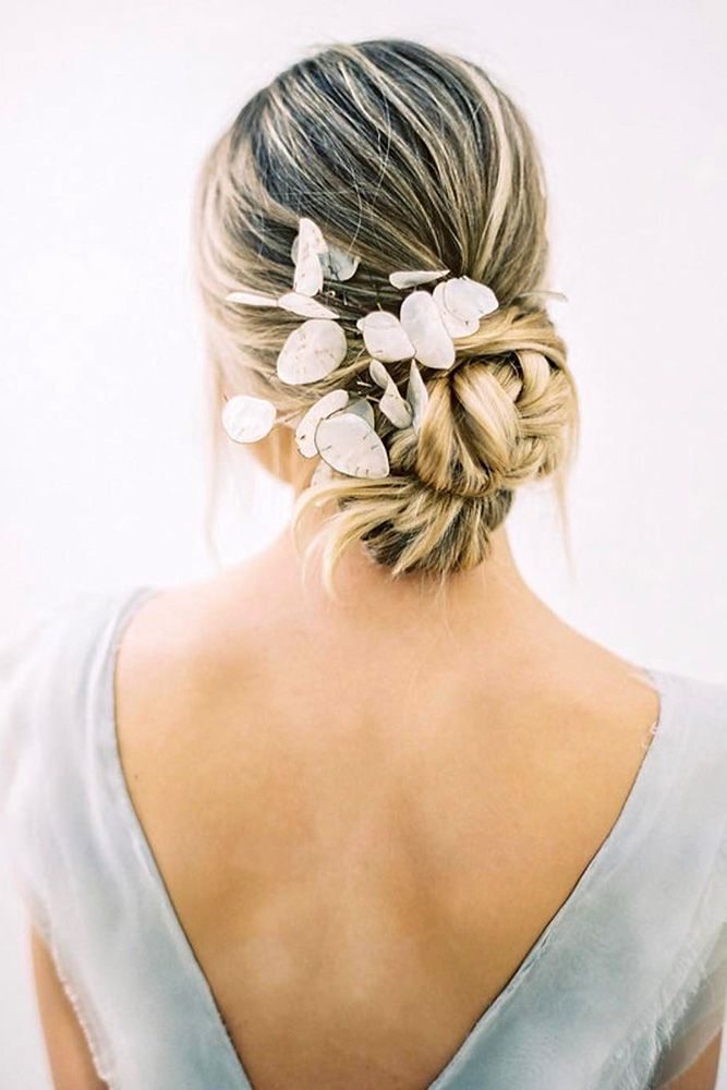 Best Wedding Hairstyle Trends 2018 ❤ wedding hairstyle trends volume low bun d...