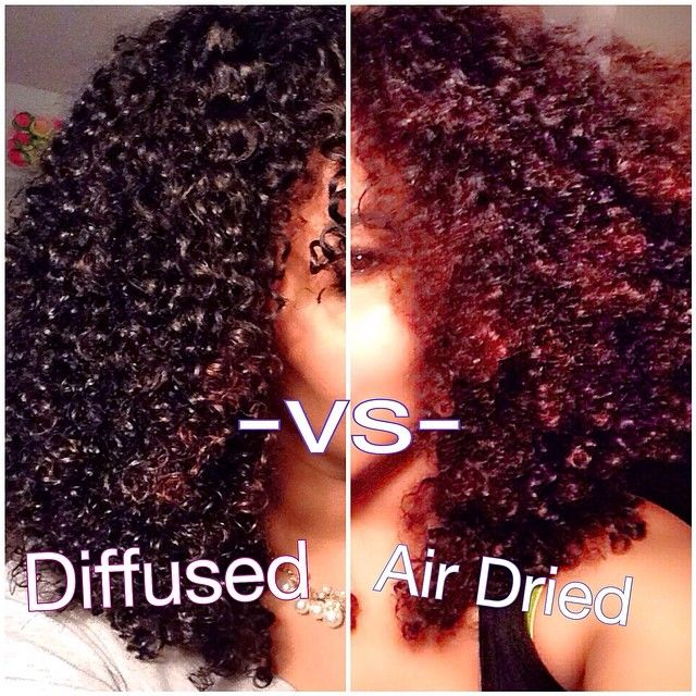 Question: whats the difference between diffused curls and air dried curls?  A: d...