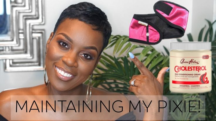 How I Maintain My Pixie! My Top Tips & Advice! [Video] - blackhairinformat...