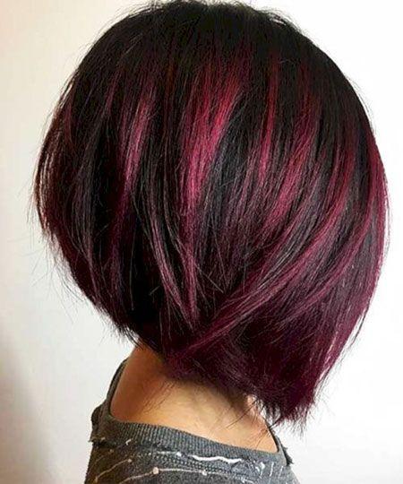 18 idées courtes de couleur de cheveux rouges