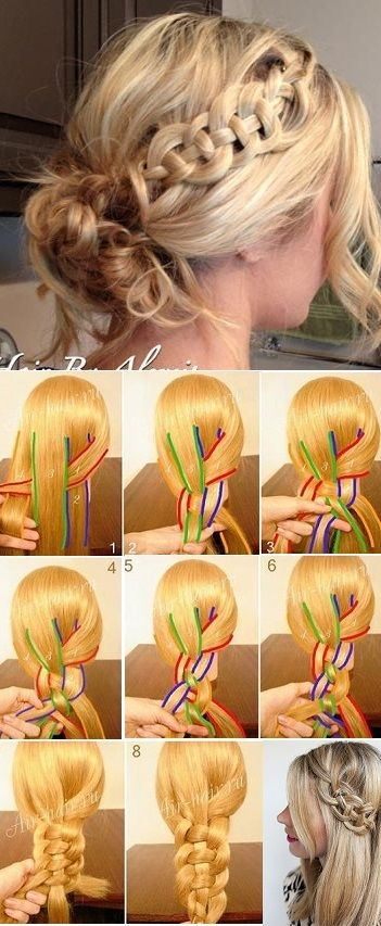 How to Make a Celtic Braid DIY step-by-step instructions with excellent photos. ...