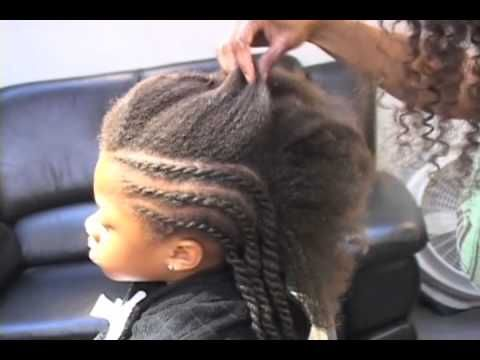 Learn How to Do a Twist Out Hairstyle for a Child