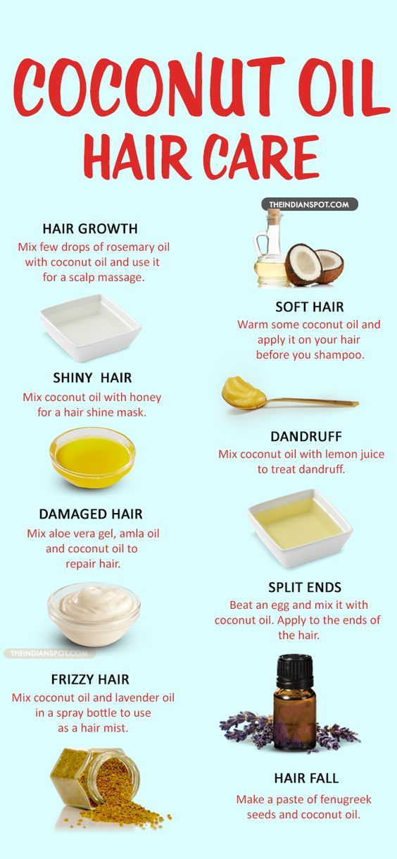 10 Amazing Ways to use coconut oil for healthy hair and scalp