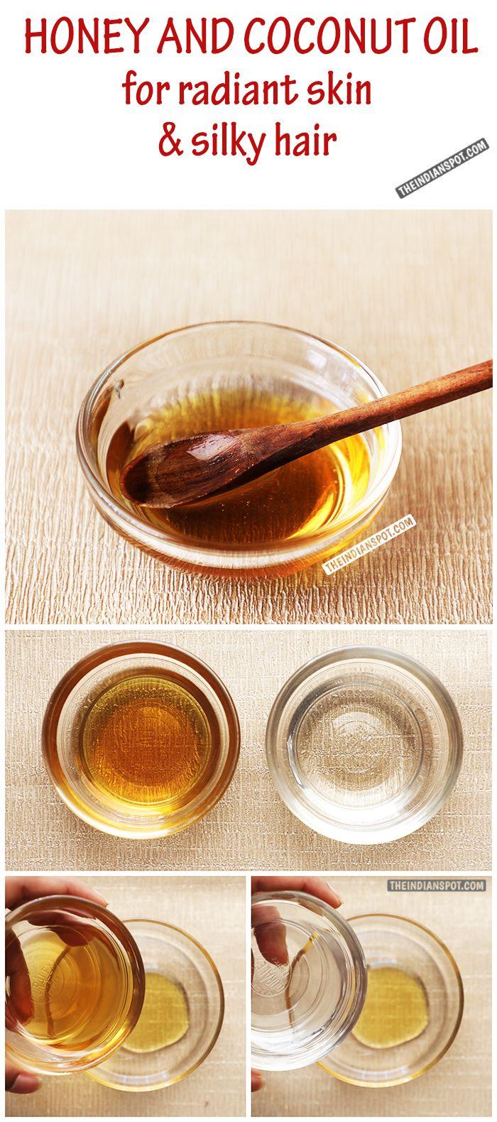 Coconut Oil Hair Treatment For smooth shiny hair