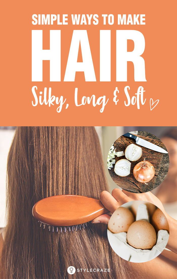7 Simple Ways To Make Hair Silky, Long, And Soft: With the right hair care routi...