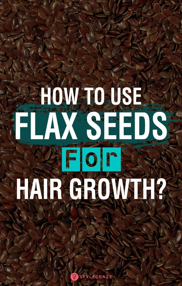How To Use Flax Seeds For Hair Growth?