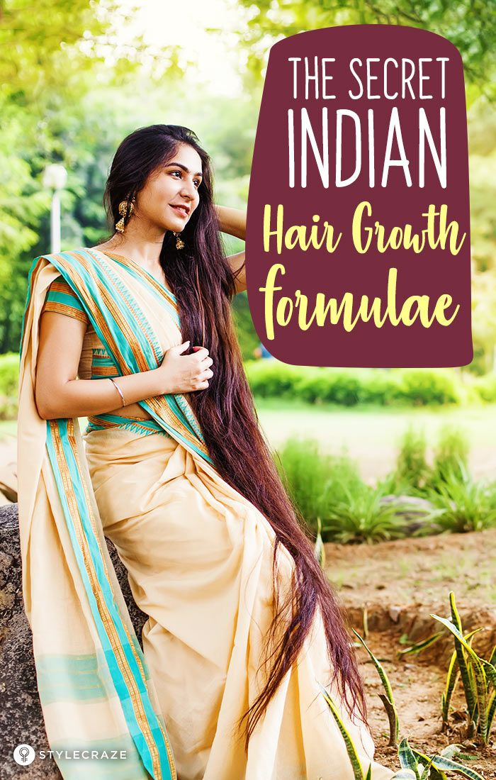 The Secret Indian Hair Growth Formulae For Faster Hair Growth: We have uncovered...