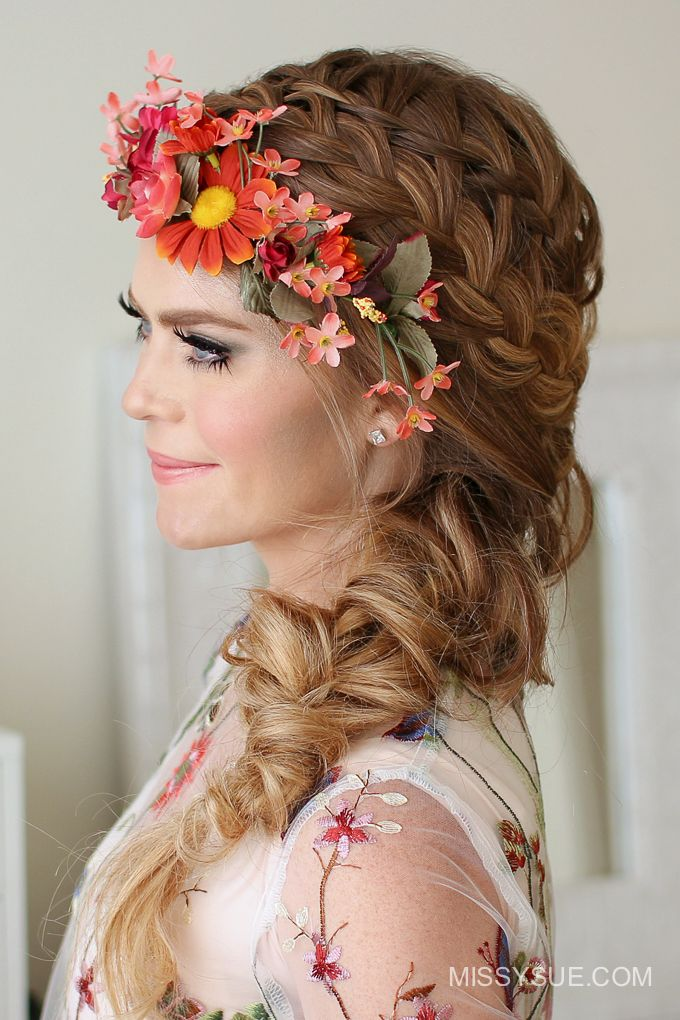 Fairy Halloween Hairstyle