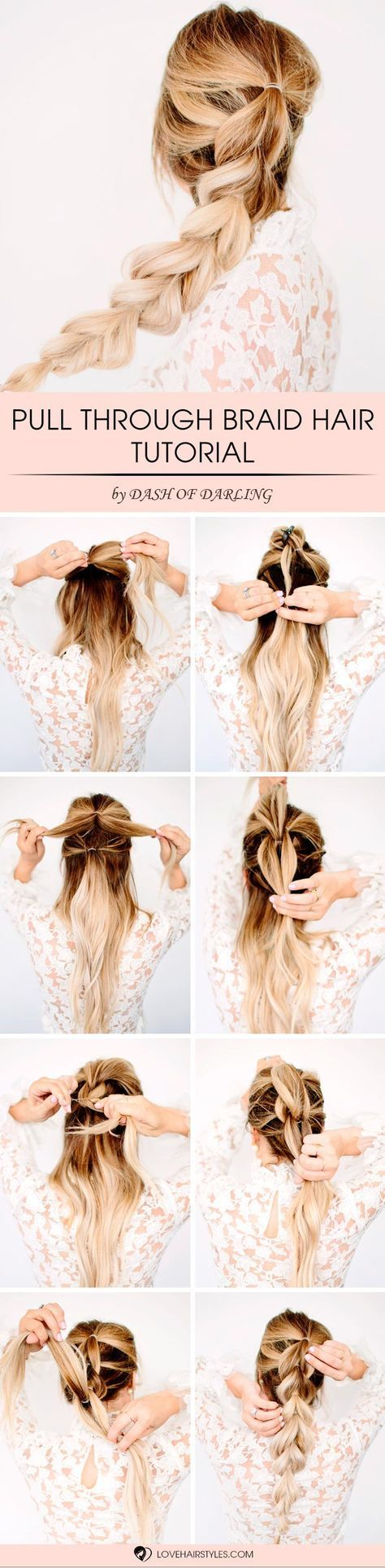 With this pull through braid hair tutorial and pictorial you will add something ...