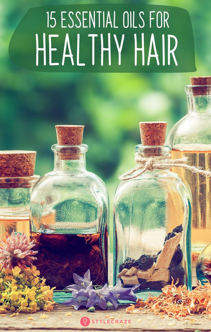 15 Best Essential Oils For Healthy Hair: The best thing about essential oils is ...
