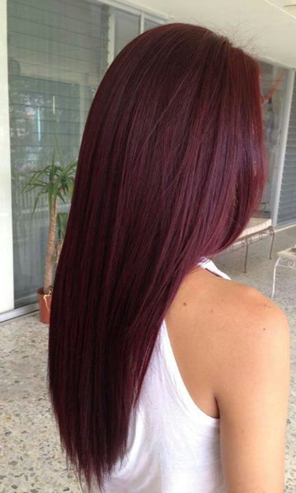 Red Hair Color 12 Hottest Mahogany Hair Color Highlights