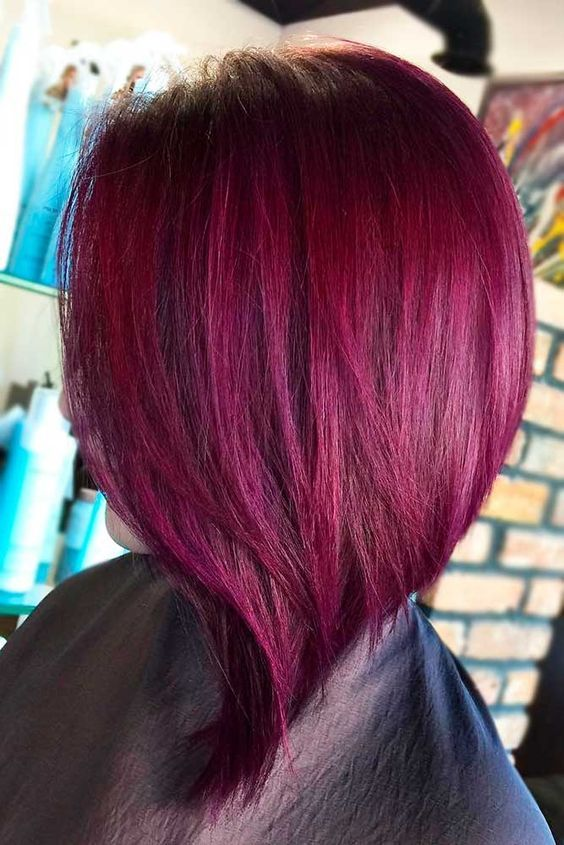 27 Purple Red Hair Is the New Black