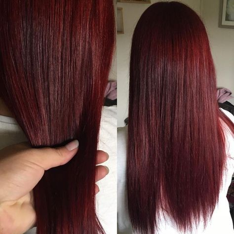 50 Striking Dark Red Hair Color Ideas — Bright Yet Elegant Check more at hairs...