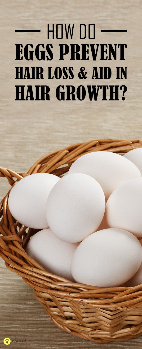 How Eggs Prevent Hair Loss And Aid Hair Growth