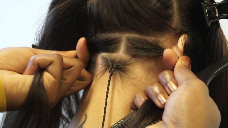 Boxbraids || Vlechten || Braids || Braids on Caucasian hair || Vlechten ...