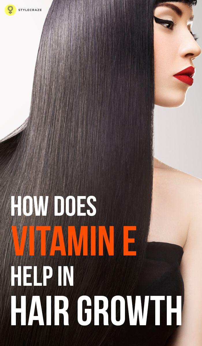 How Does Vitamin E Help In Hair Growth?