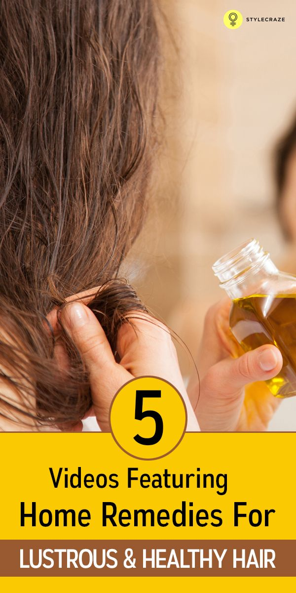 5 Videos Featuring Home Remedies For Lustrous & Healthy Hair