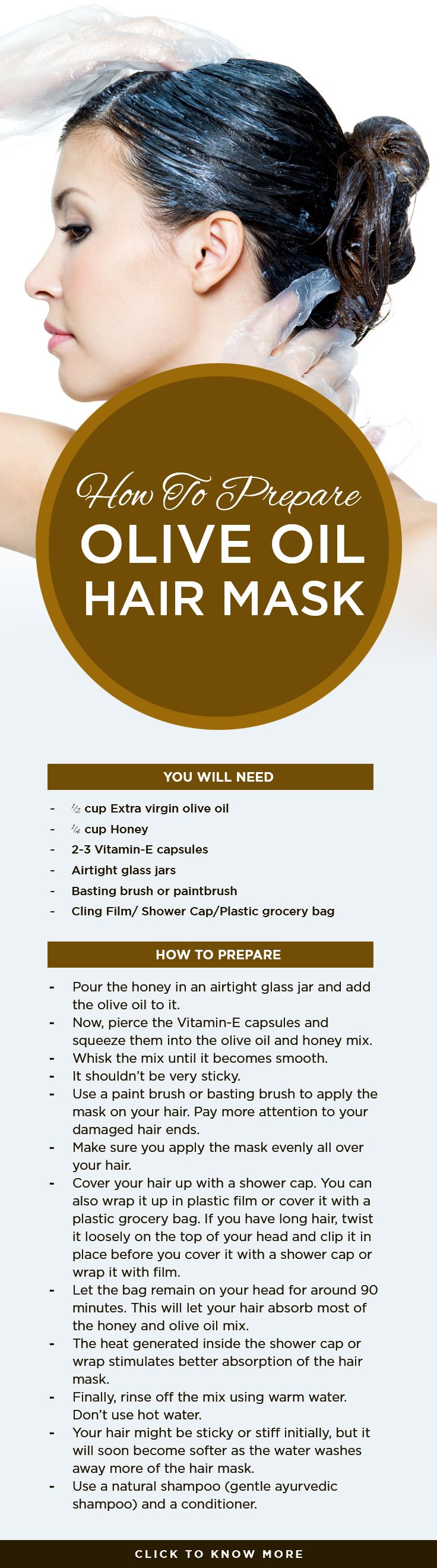 How To Prepare Olive Oil Hair Masks